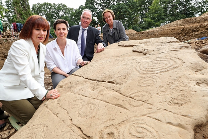 Discovery of Megalithic Passage Tomb Cemetery within the Bru na Boinne World Heritage Site