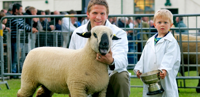 Devenish Nutrition's Graham Manson Shines at Balmoral Show